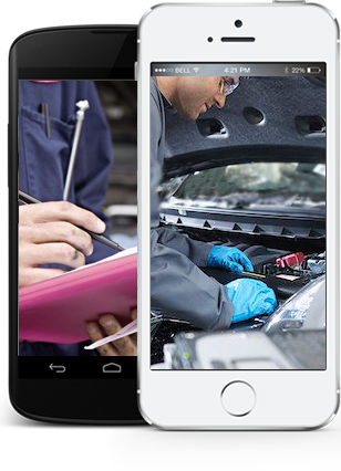 Android app for car repair service
