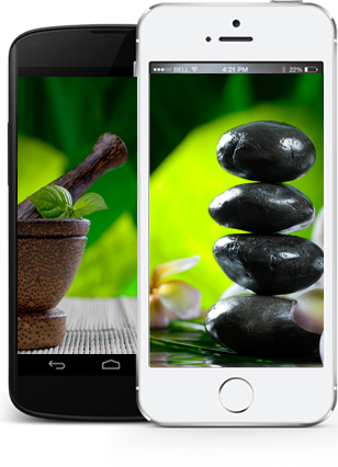 iPhone native application for beauty salon
